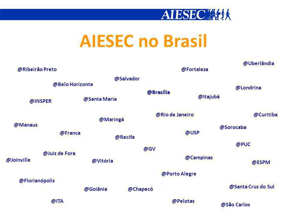 AIESEC no Brasil @Uberlândia @Ribeirão Preto @Fortaleza @Salvador