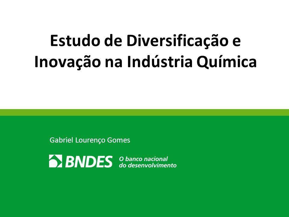 Estudo de Diversificação e Inovação na Indústria Química