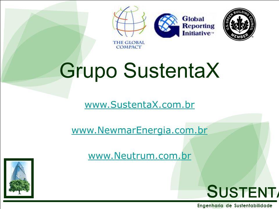 Grupo SustentaX SUSTENTAX www.SustentaX.com.br