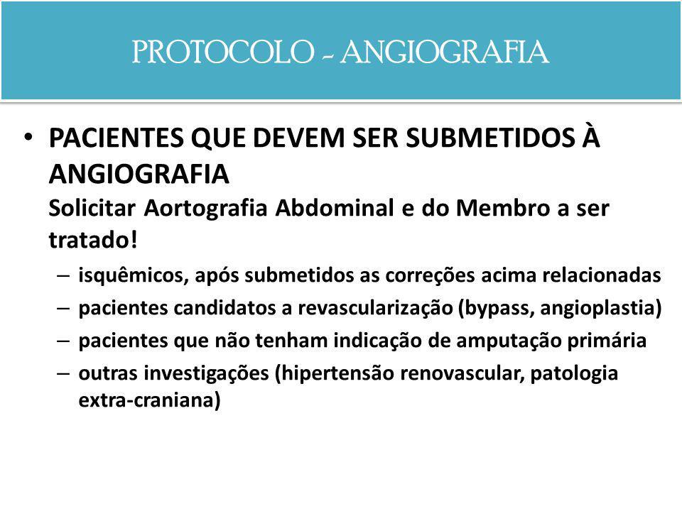 PROTOCOLO - ANGIOGRAFIA