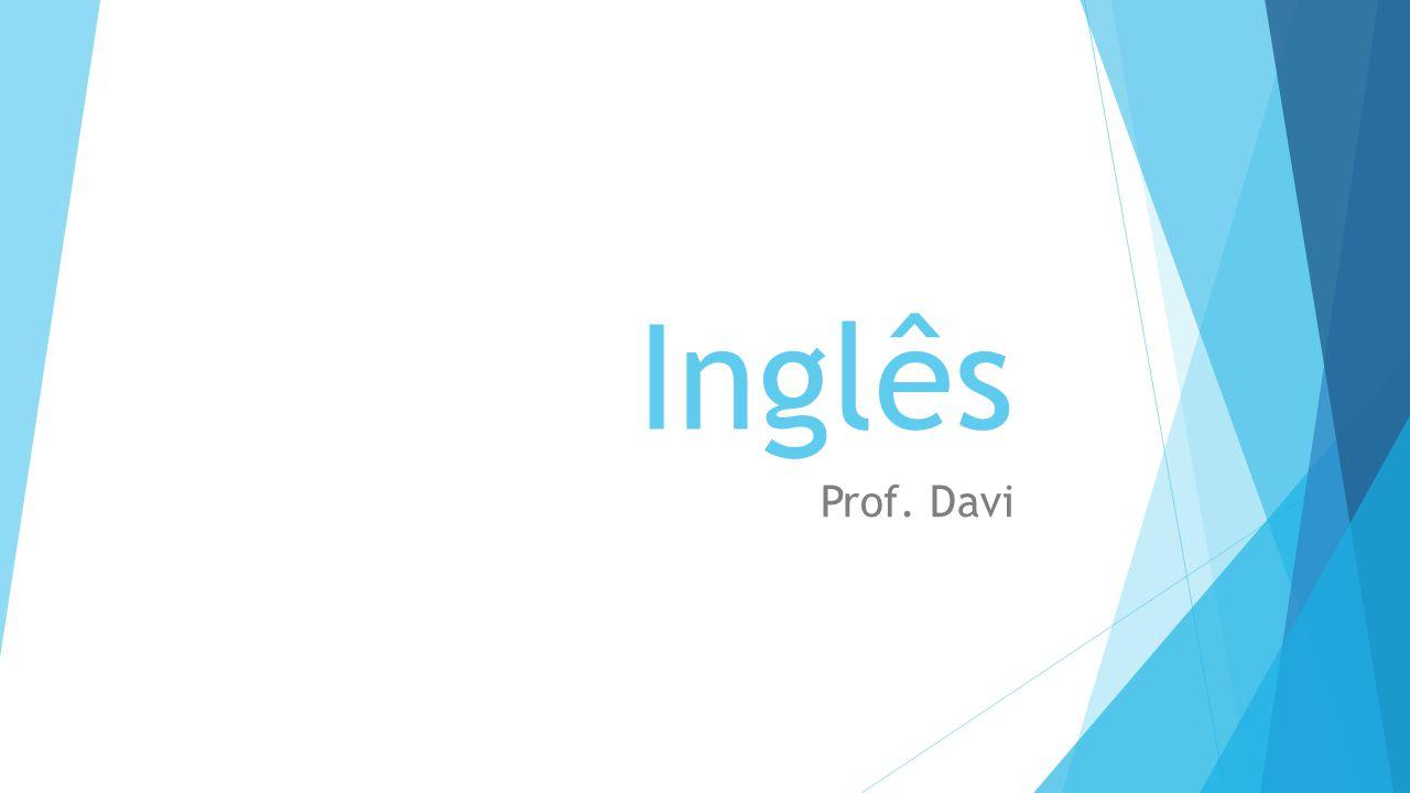 Inglês Prof. Davi