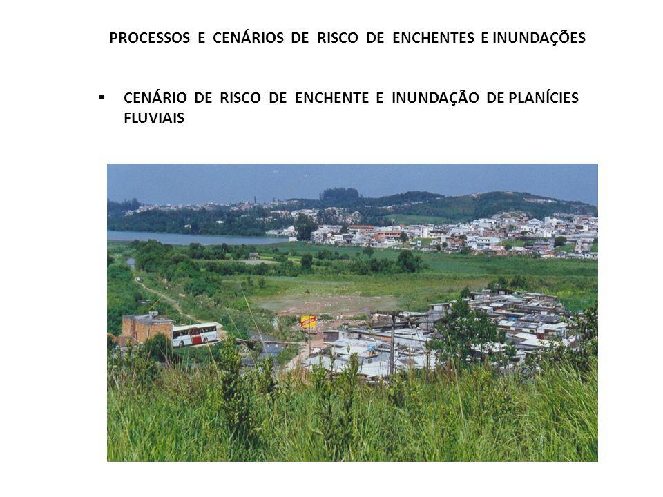PROCESSOS E CENÁRIOS DE RISCO DE ENCHENTES E INUNDAÇÕES