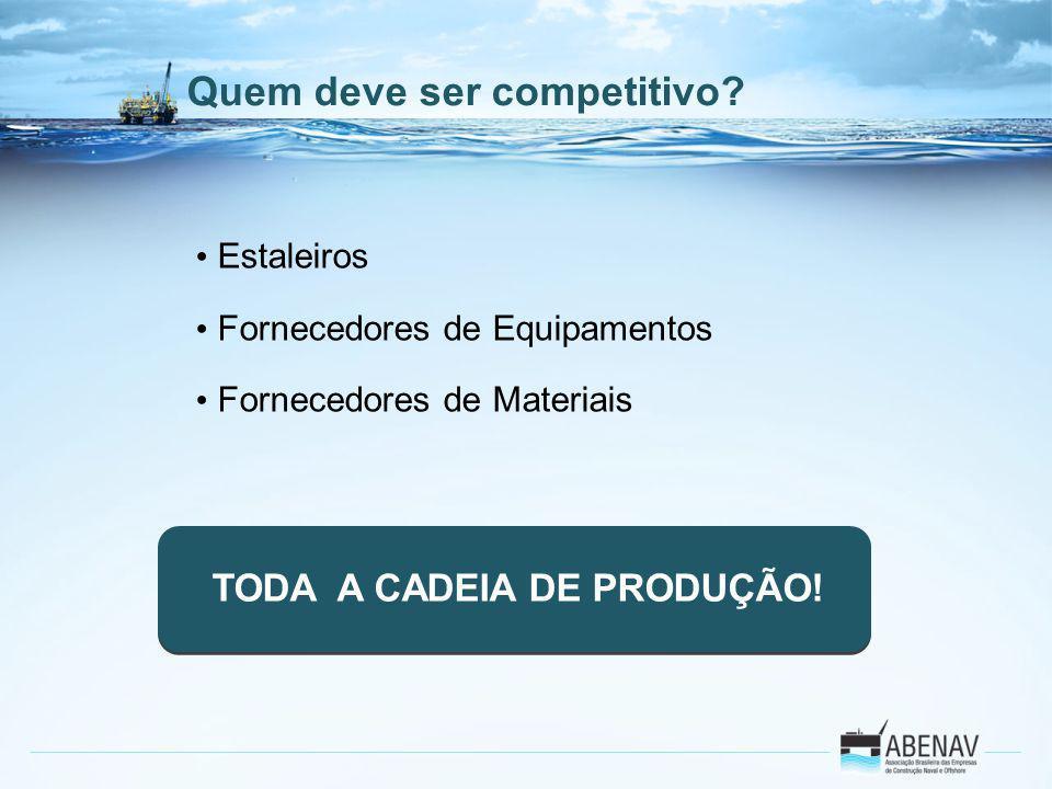 TODA A CADEIA DE PRODUÇÃO!