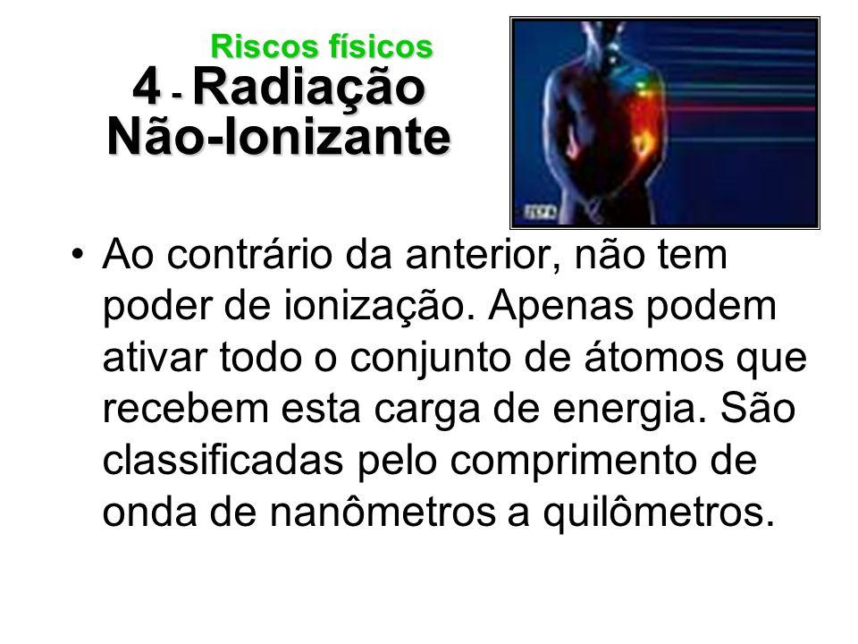 Riscos físicos 4 - Radiação Não-Ionizante