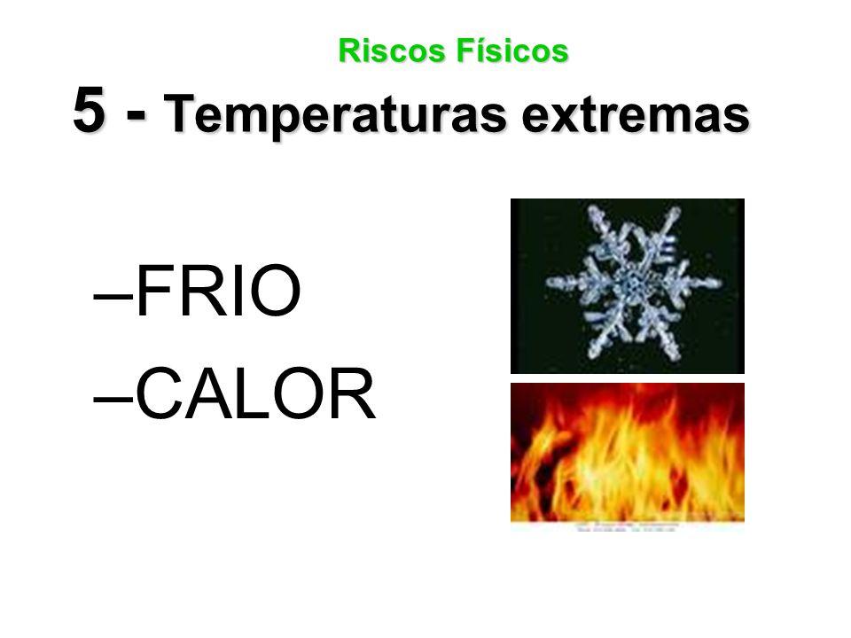 Riscos Físicos 5 - Temperaturas extremas