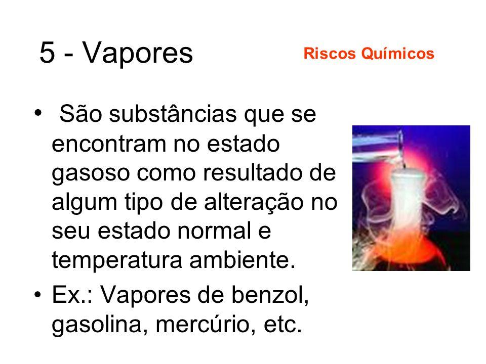 5 - Vapores Riscos Químicos.