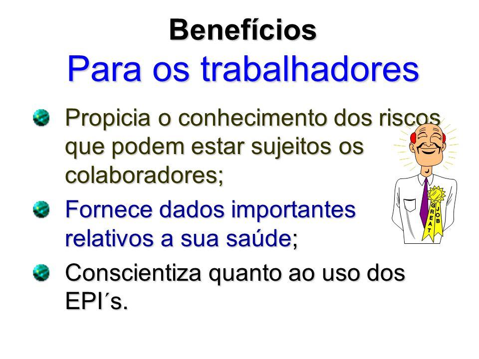 Benefícios Para os trabalhadores