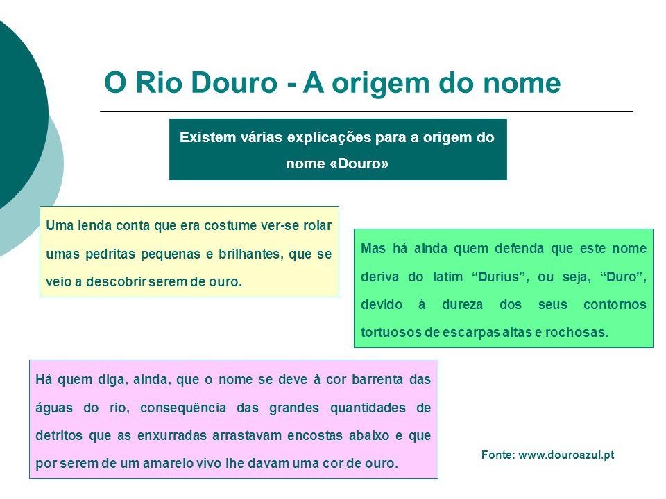 Existem várias explicações para a origem do nome «Douro»