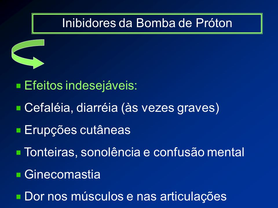 Inibidores da Bomba de Próton