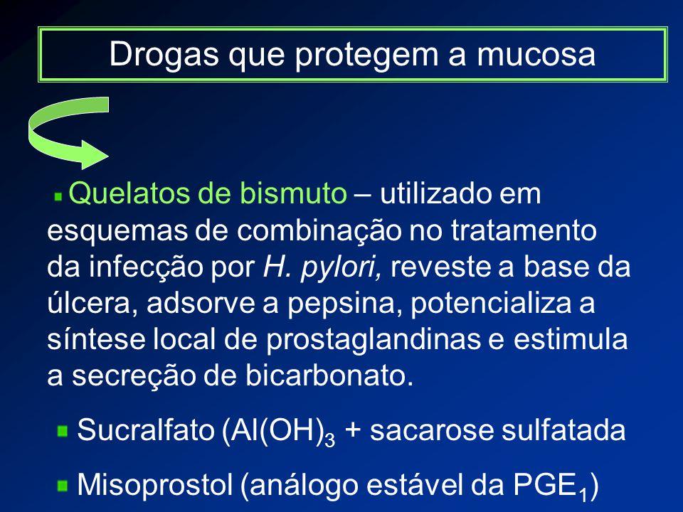 Drogas que protegem a mucosa