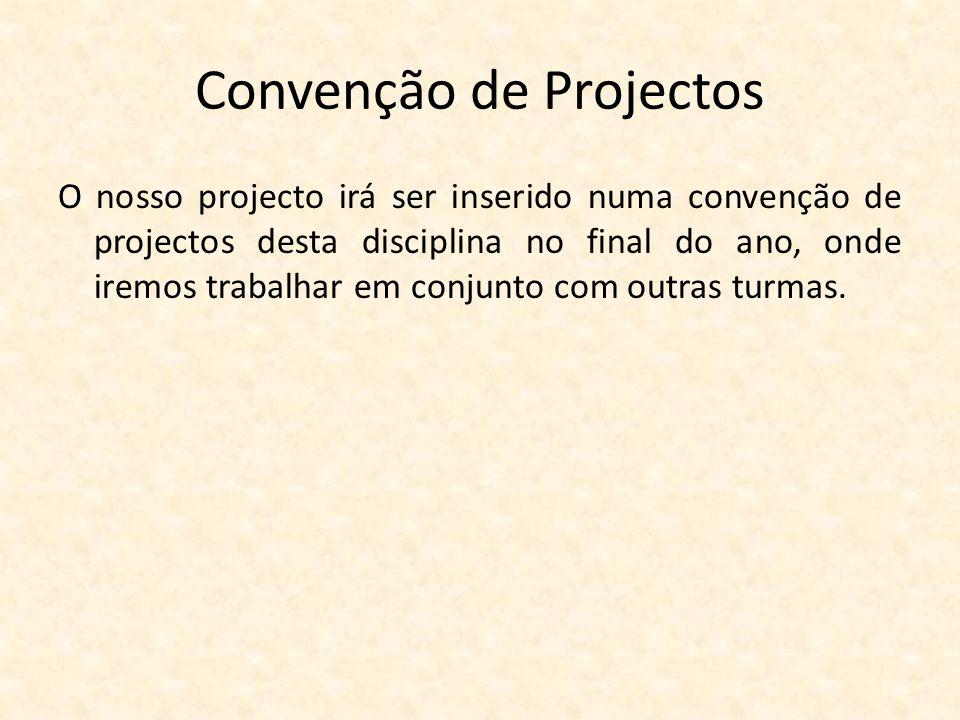 Convenção de Projectos