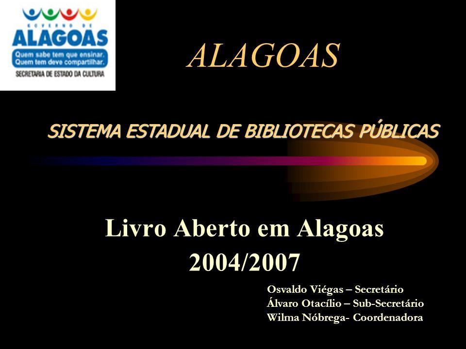 Livro Aberto em Alagoas 2004/2007