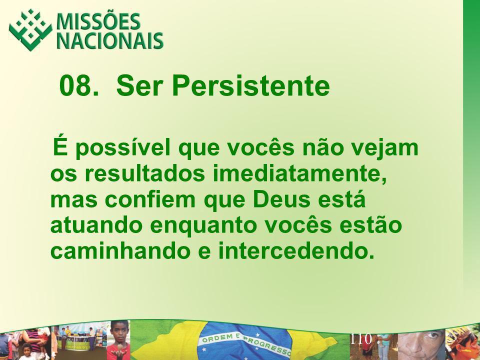 08. Ser Persistente
