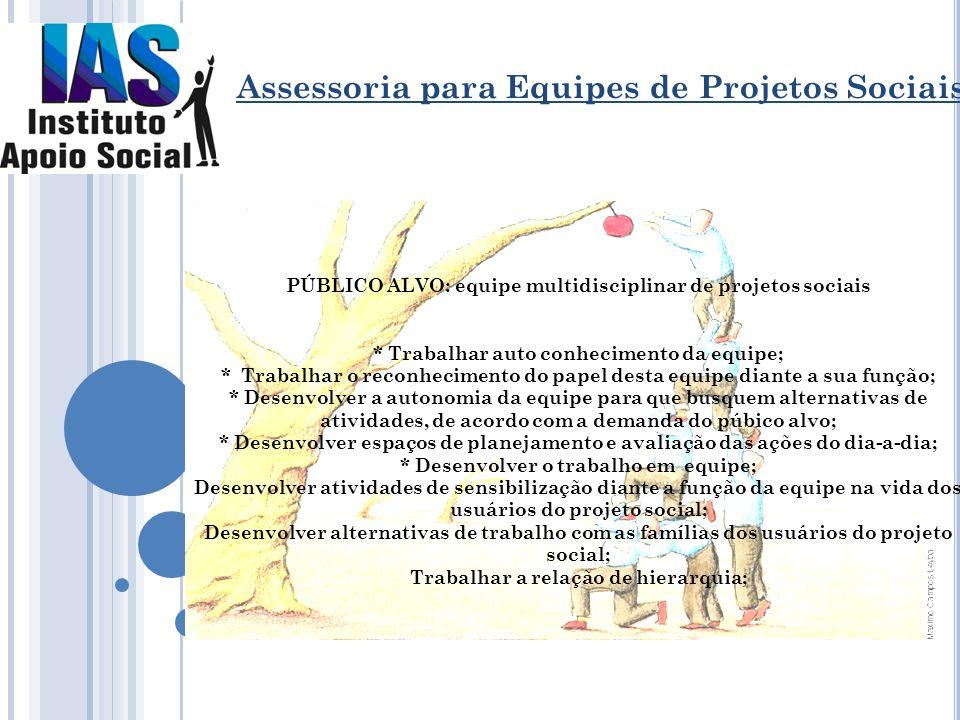 Assessoria para Equipes de Projetos Sociais