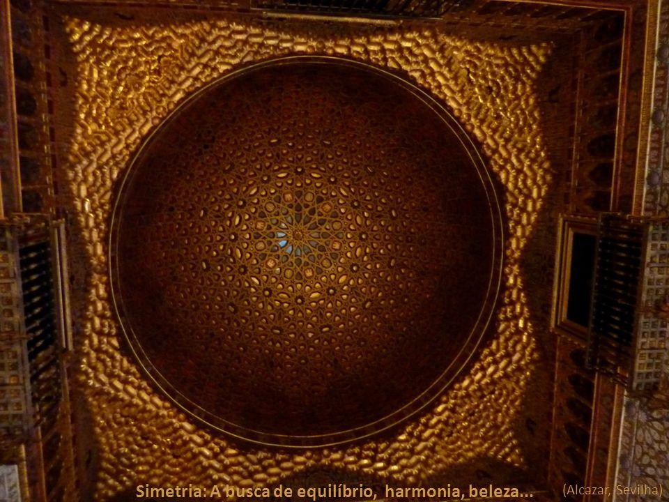 Simetria: A busca de equilíbrio, harmonia, beleza...