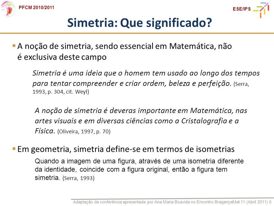 Simetria: Que significado