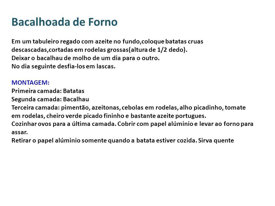 Bacalhoada de Forno