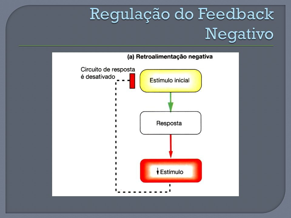 Regulação do Feedback Negativo