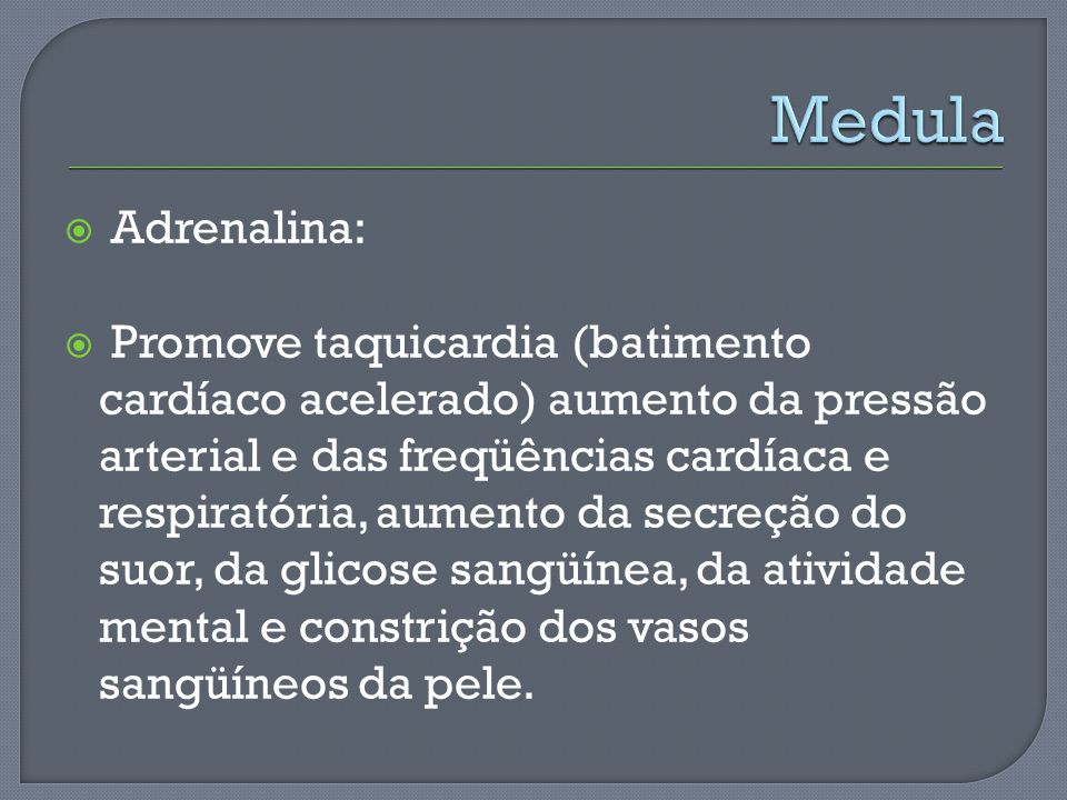 Medula Adrenalina: