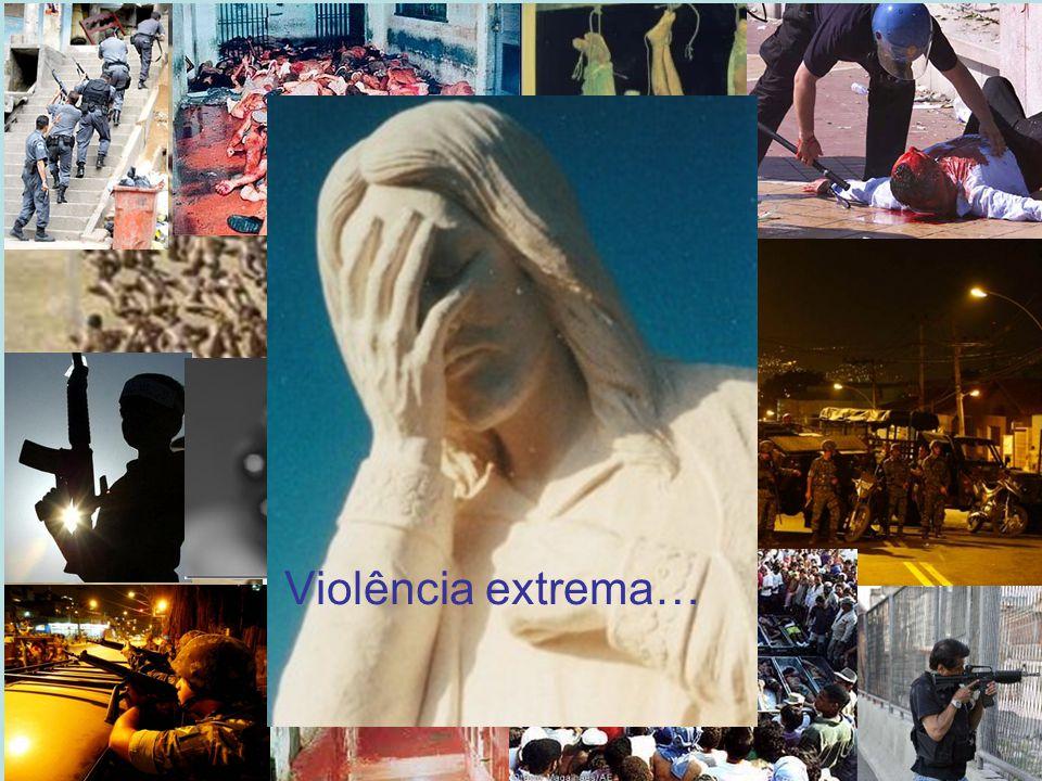 Por que saí do Brasil Violência extrema…