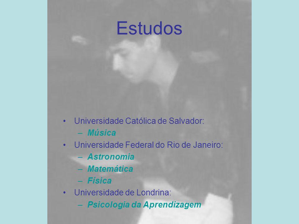 Estudos Universidade Católica de Salvador: Música
