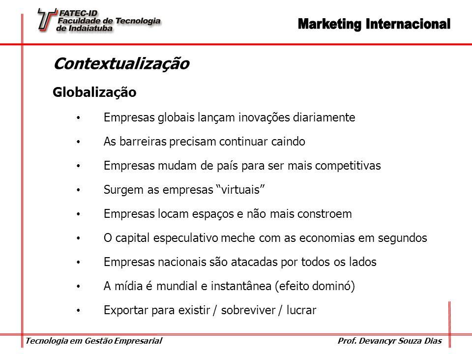 Contextualização Globalização