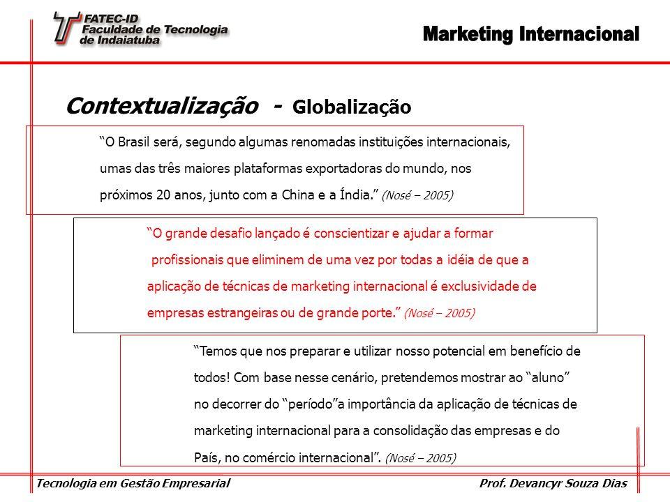Contextualização - Globalização