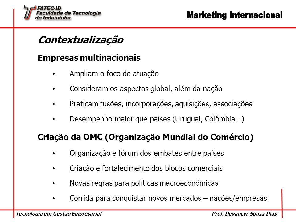 Contextualização Empresas multinacionais