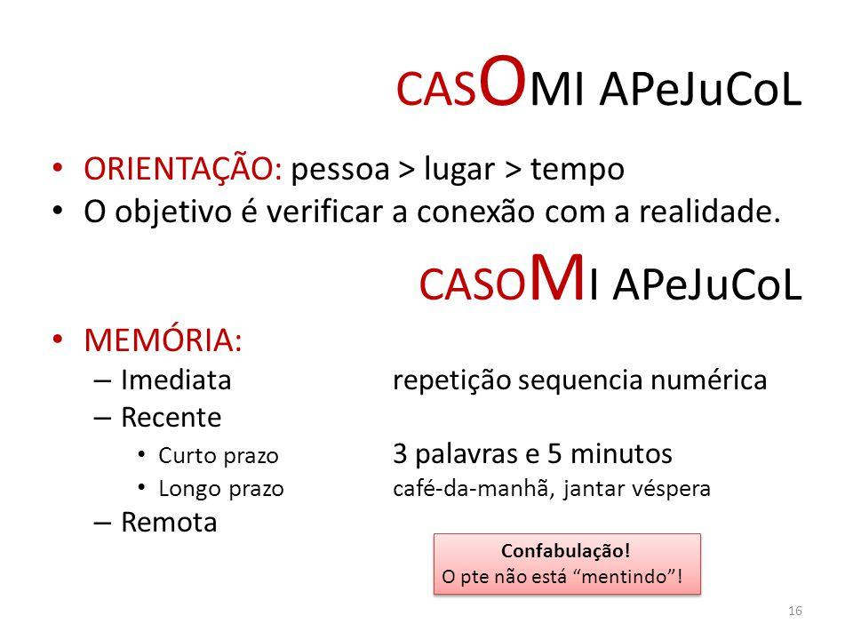 CASOMI APeJuCoL CASOMI APeJuCoL