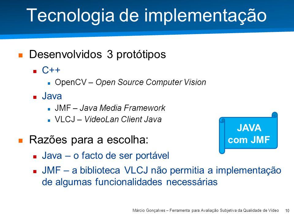 Tecnologia de implementação