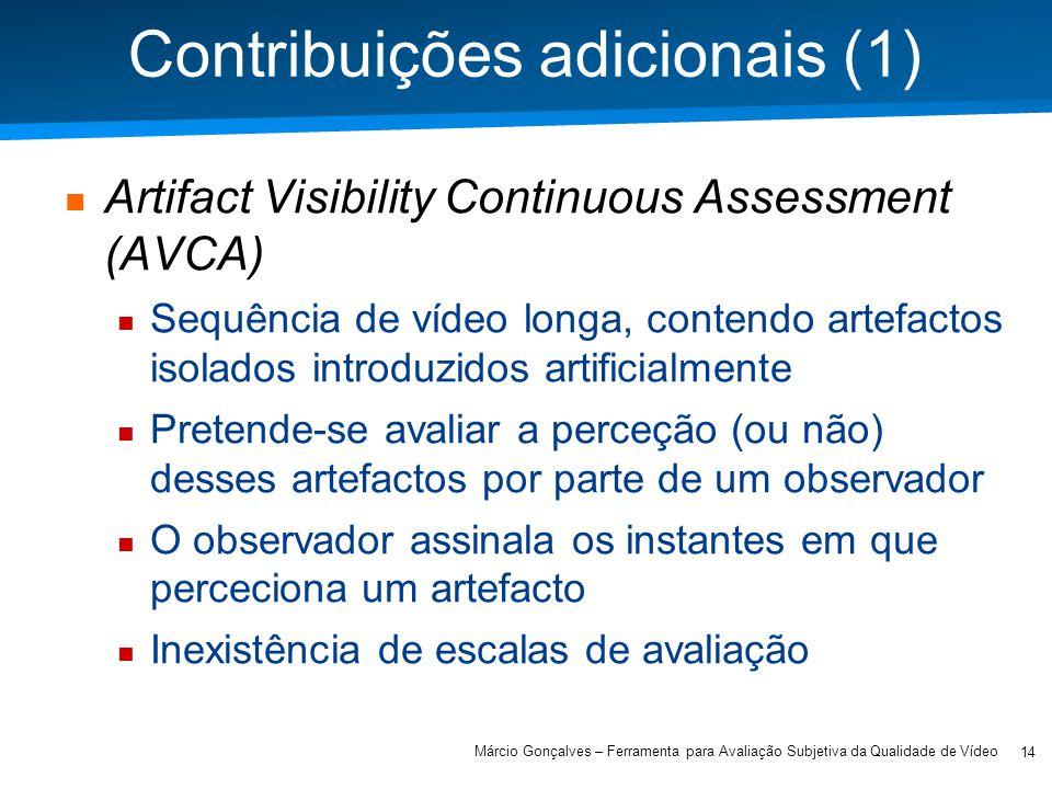 Contribuições adicionais (1)