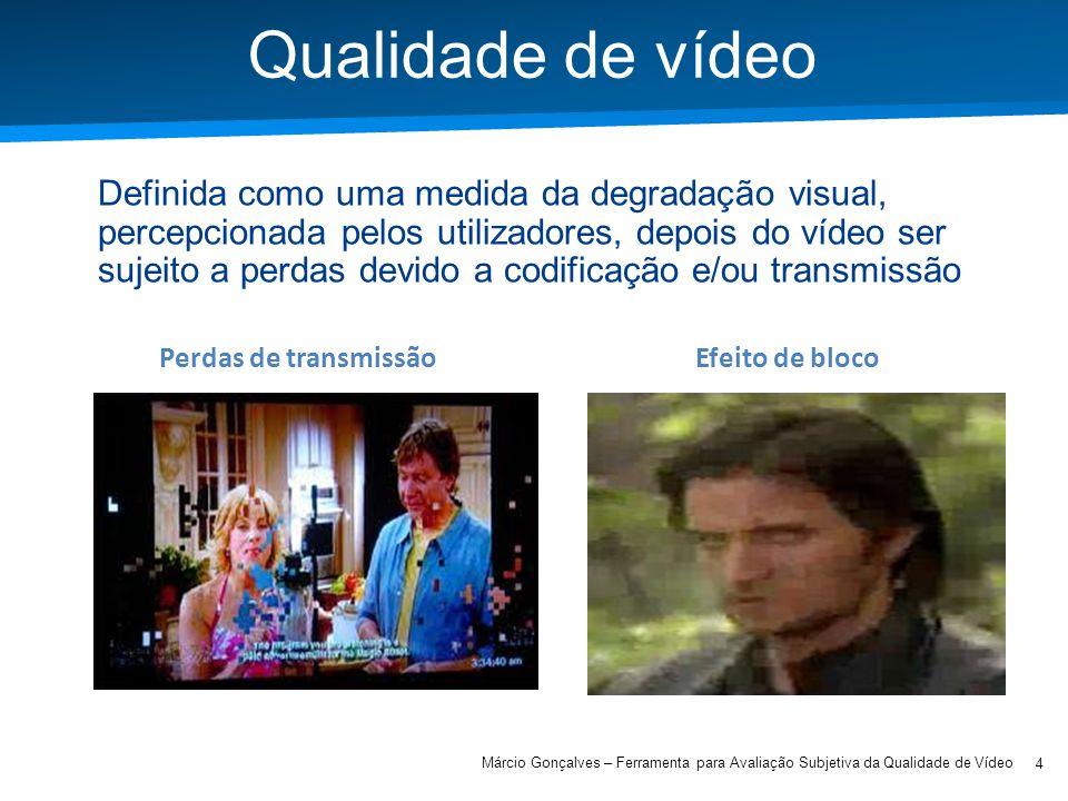 Qualidade de vídeo