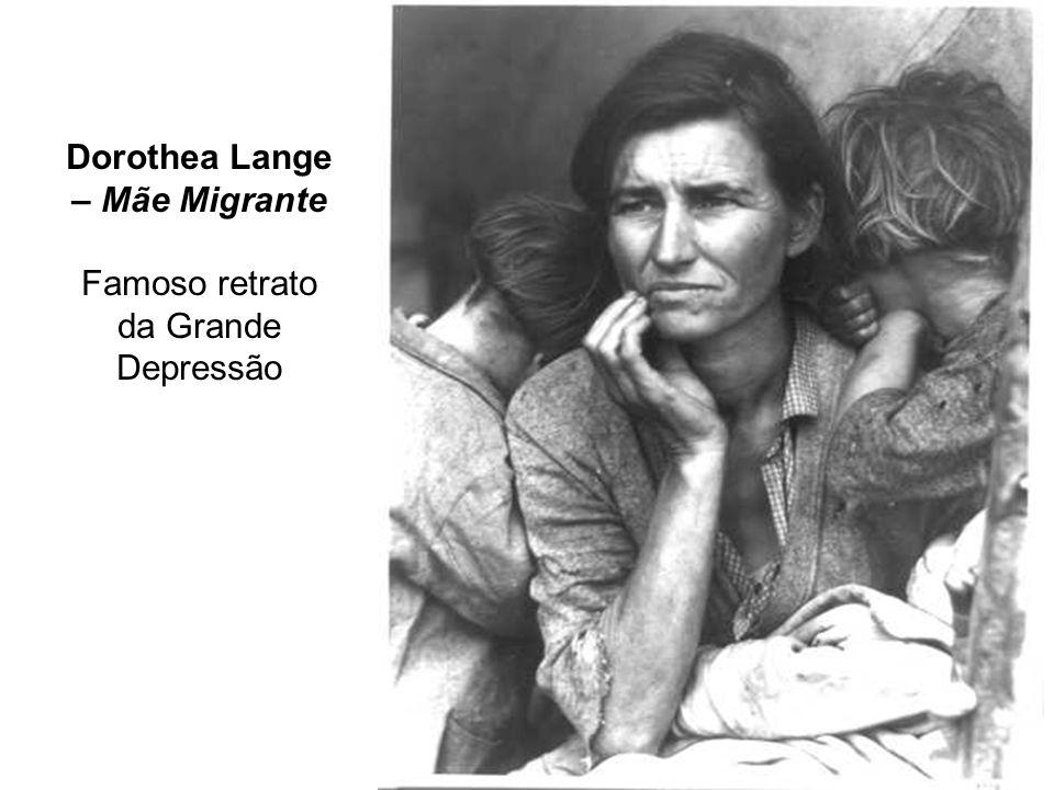 Dorothea Lange – Mãe Migrante