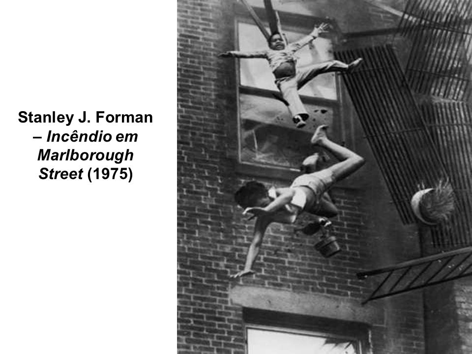 Stanley J. Forman – Incêndio em Marlborough Street (1975)