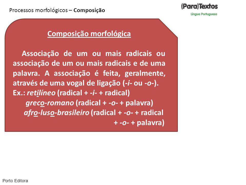 Composição morfológica