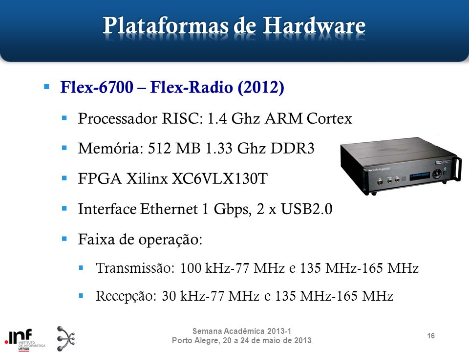 Plataformas de Hardware