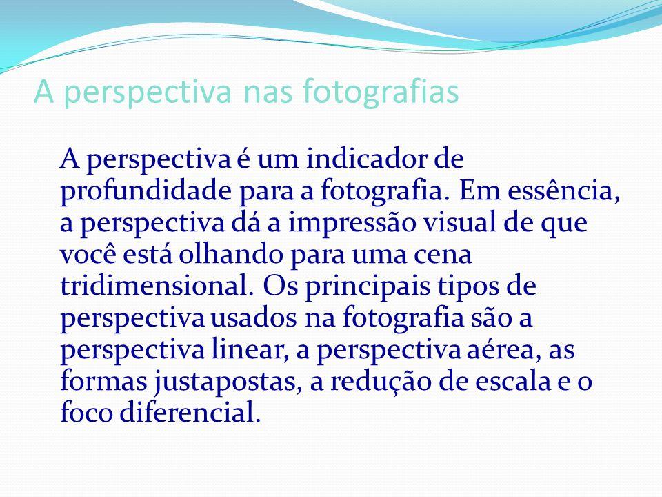A perspectiva nas fotografias