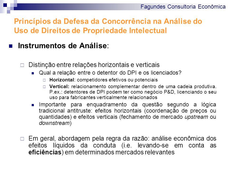 Instrumentos de Análise: