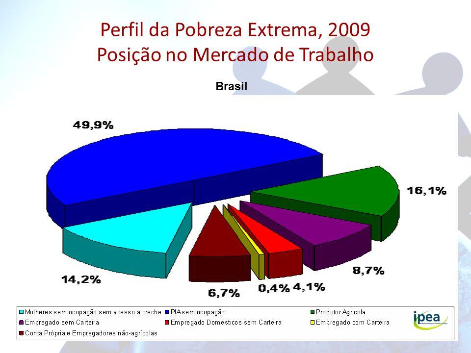 Perfil da Pobreza Extrema, 2009 Posição no Mercado de Trabalho