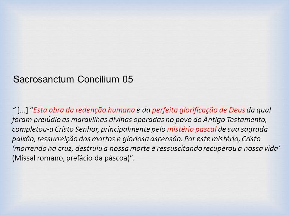 Sacrosanctum Concilium 05