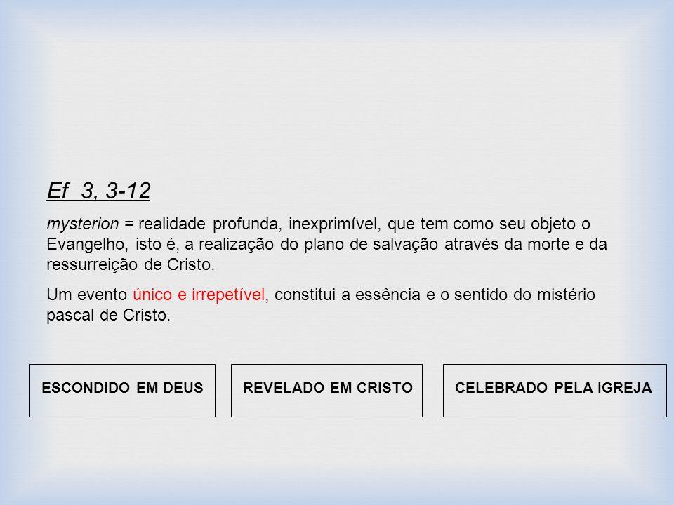 Ef 3, 3-12