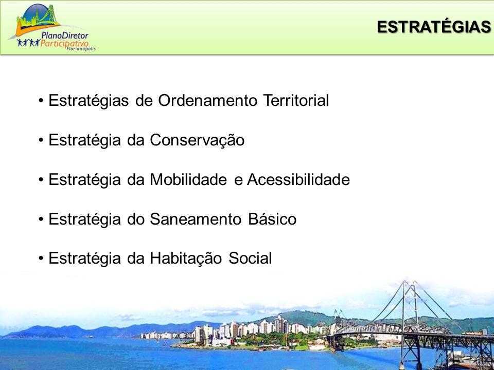 ESTRATÉGIAS Estratégias de Ordenamento Territorial. Estratégia da Conservação. Estratégia da Mobilidade e Acessibilidade.
