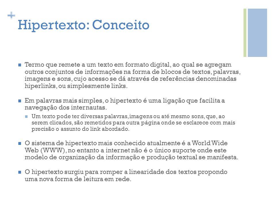 Hipertexto: Conceito