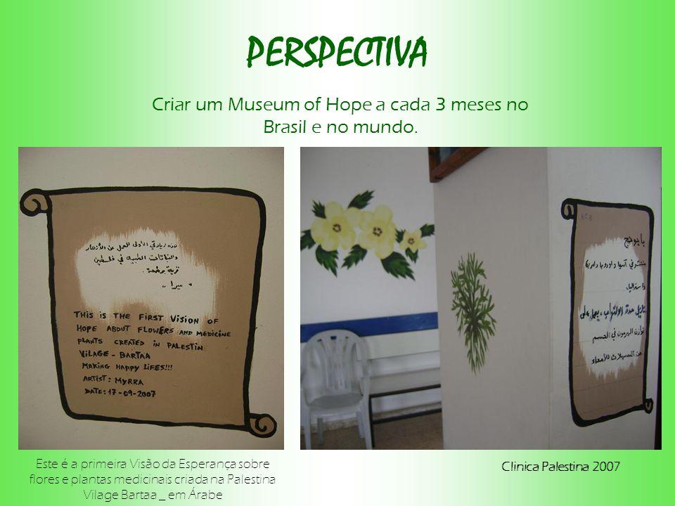 Criar um Museum of Hope a cada 3 meses no