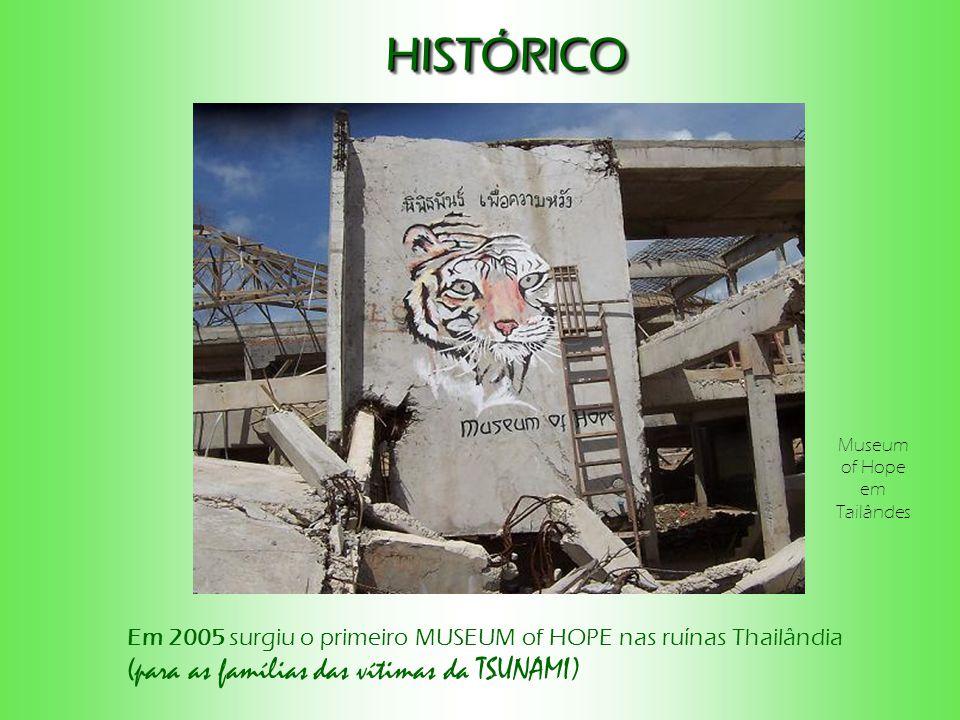 HISTÓRICO (para as famílias das vítimas da TSUNAMI)