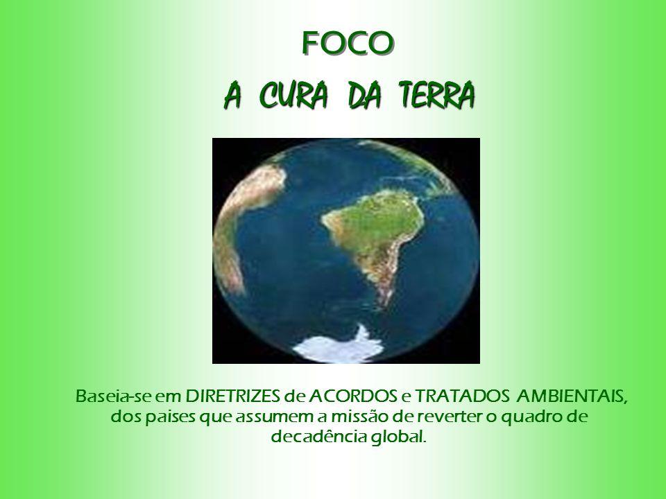 FOCO A CURA DA TERRA.