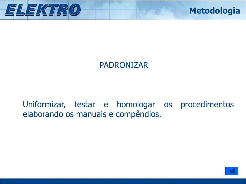 Metodologia PADRONIZAR