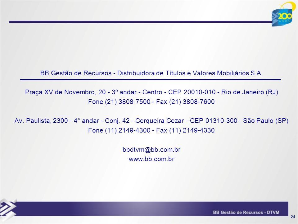 BB Gestão de Recursos - Distribuidora de Títulos e Valores Mobiliários S.A.