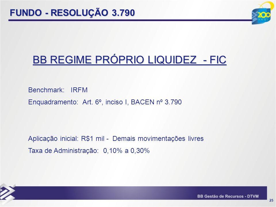 BB REGIME PRÓPRIO LIQUIDEZ - FIC