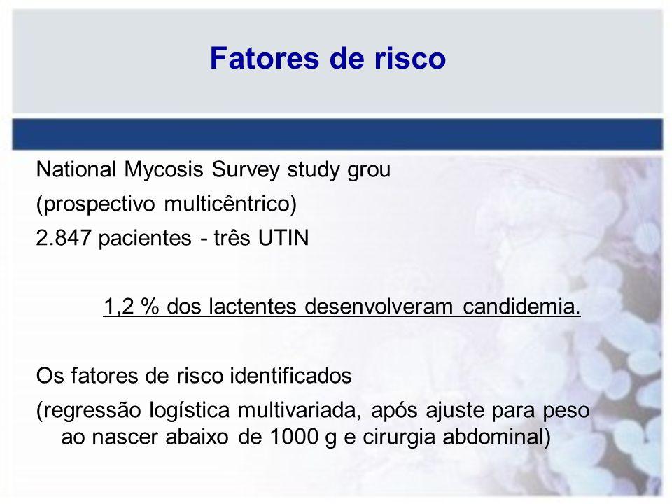 Fatores de risco National Mycosis Survey study grou